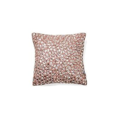 Jewel Accent Pillow Color: Light Pink, Size: 12 x 20