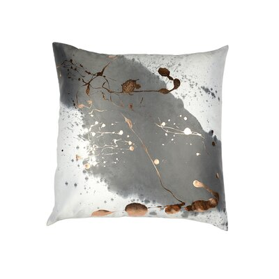 Mod Art Constellation Throw Pillow Color: Cream /Rose Gold