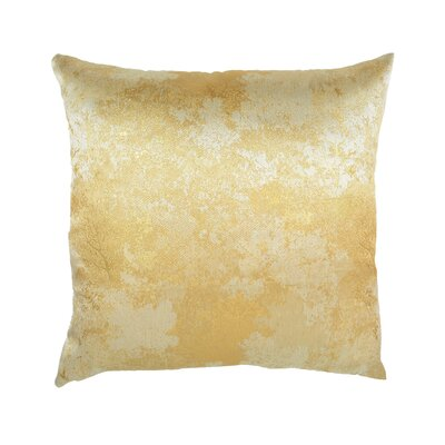 Textile Library Estate Throw Pillow Color: Gold