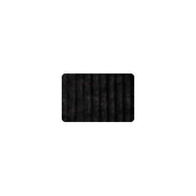 ModMink Lumbar Pillow Color: Black