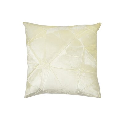 Signature Facet Lumbar Pillow Color: Ivoire