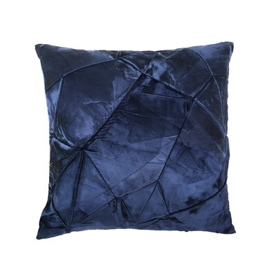 Signature Facet Lumbar Pillow Color: Prussian