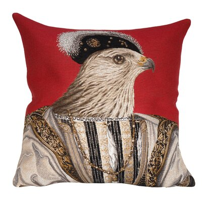 Francois Classic Throw Pillow Color: Dark Mauve