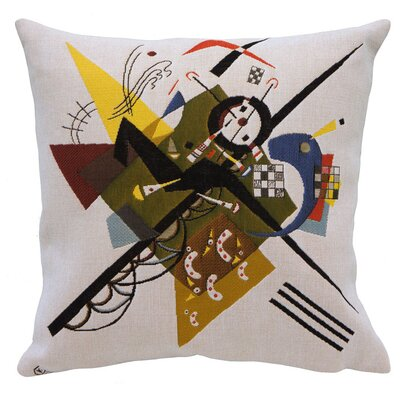 Auf Weiss II 1923  Throw Pillow
