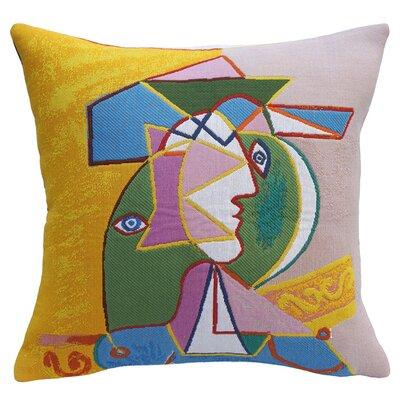 Femme au Chapeau 1934 Throw Pillow