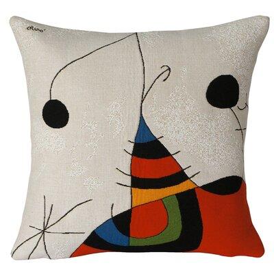Femme, Oiseau Etoile 1978 Extrait No.2  Throw Pillow