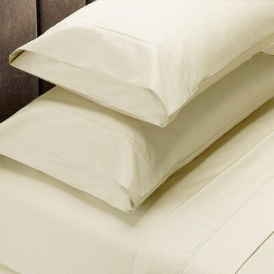 820 Thread Count Egyptian Quality Cotton Sheet Set Size: King, Color: Ivory