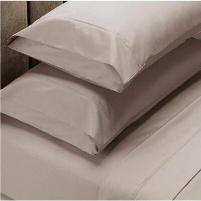 820 Thread Count Egyptian Quality Cotton Sheet Set Size: King, Color: Taupe
