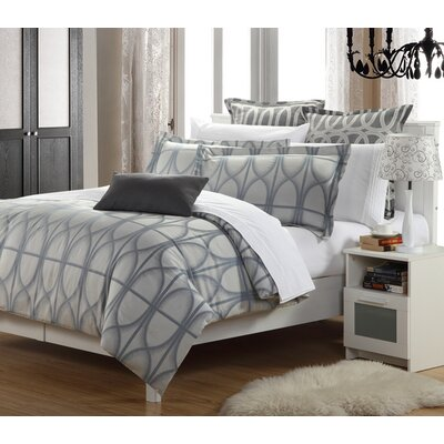 Luxury 3 Piece Duvet Set Size: Queen