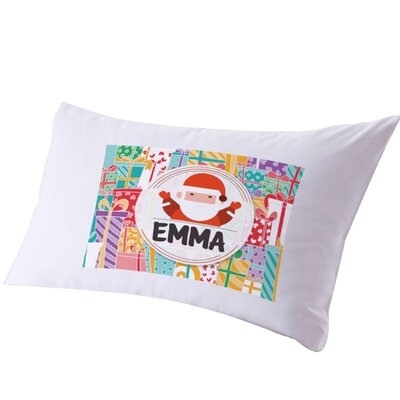 Personalized Kids Christmas Pillow Case
