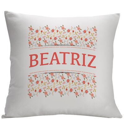 Personalized Floral Decorative Cushion Cover