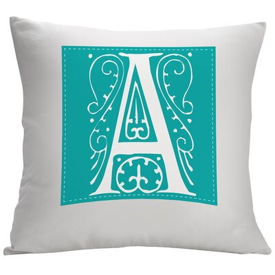 Personalized Single Initial Decorative Cushion Cover