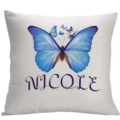 Personalized Butterfly Decorative Cushion Cover