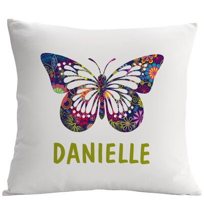 Personalized Butterfly Pillow Cushion Cover