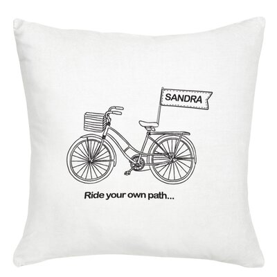 Personalized Ride Your Own Path Cushion Cover