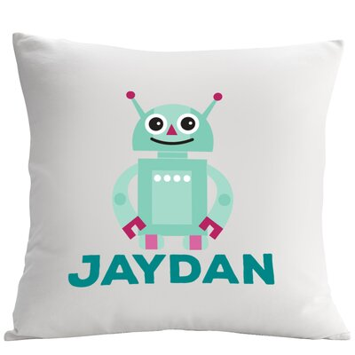 Personalized Friendly Robot Cushion Cover