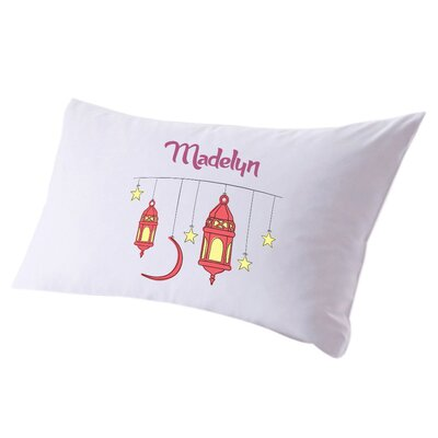 Personalized Stars and Lanterns Pillow Case