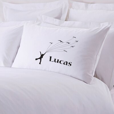 Personalized Flying With Kites Pillow Case