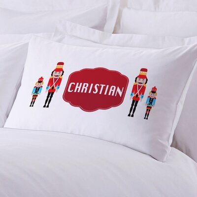Personalized Nutcracker Pillow Case