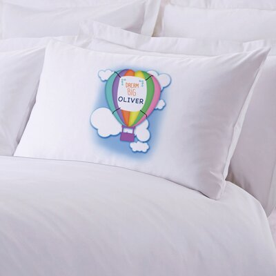 Personalized Dream Big Balloon Pillow Case
