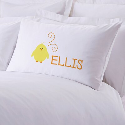 Personalized Baby Chick Pillow Case