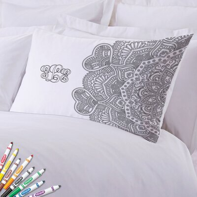 Add Color Intricate Design Custom Pillow Case