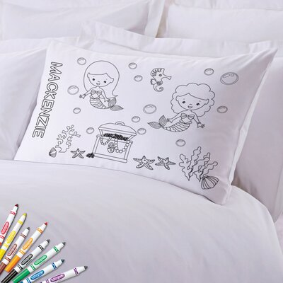 Add Color Kids Mermaids Custom Pillow Case