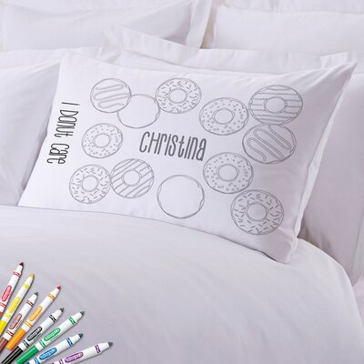 Add Color Kids Custom Donut Care Pillow Case
