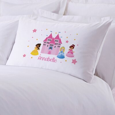 Personalized Princess Castle Pillow Case