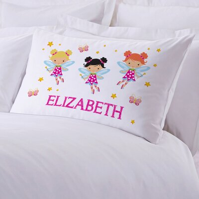 Personalized Fairy Pillow Case