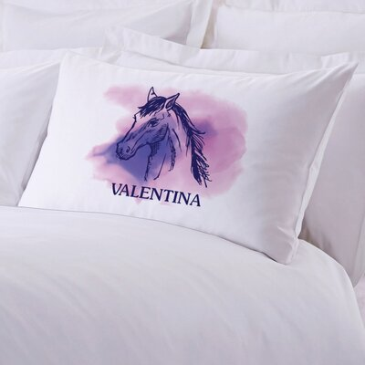 Personalized Horse Lover Pillow Case