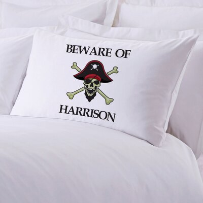 Personalized Pirate Pillow Case