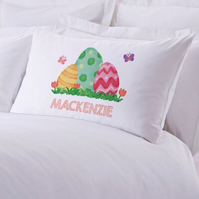 Easter Eggs Personalized Kids Pillow Case