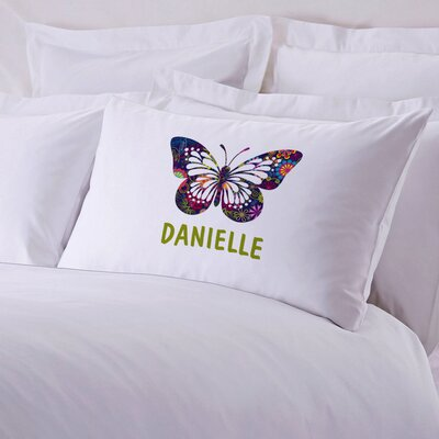 Butterfly Personalized Pillow Case