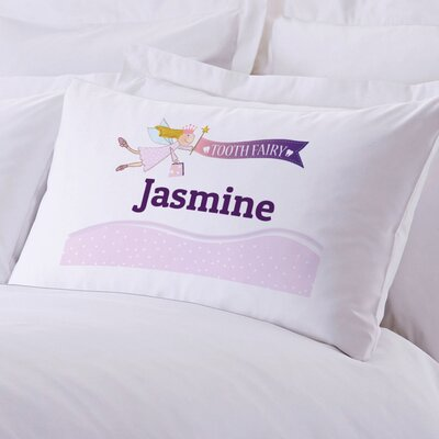 Girl's Tooth Fairy Personalized Pillow Case