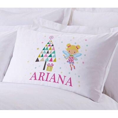 Personalized Sugar Plum Fairy Pillow Case
