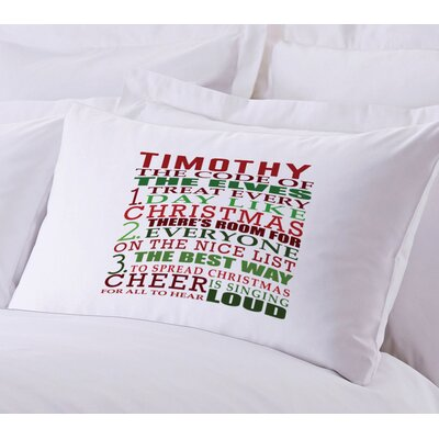 Personalized The Elves Code Pillow Case