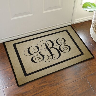 Custom Monogram Design Doormat