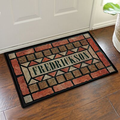 Personalized Brick Design Doormat