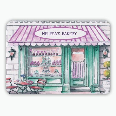 Melissas Bakery Personalized Kitchen Mat