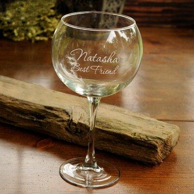 Leary Personalized 20 Oz. Red Wine Glass RDBT1345 40894536