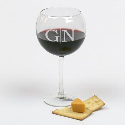 Royston Personalized Arc Cachet 20 Oz. Red Wine Glass RDBT1368 40894559