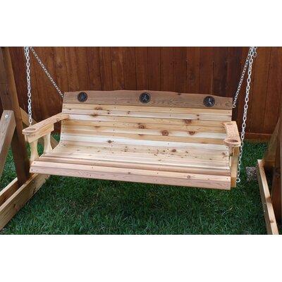 Texas Star Porch Swing