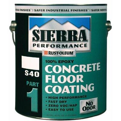 Rust-Oleum Sierra Performance? S40 Concrete Epoxy Floor Coatings - voc gloss black s40 concr epoxy floor coating (Set of 2) at Sears.com