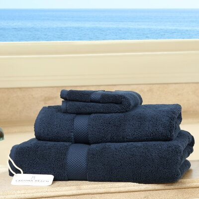 Plush 3 Piece Bath Towel Set Color: Charcoal
