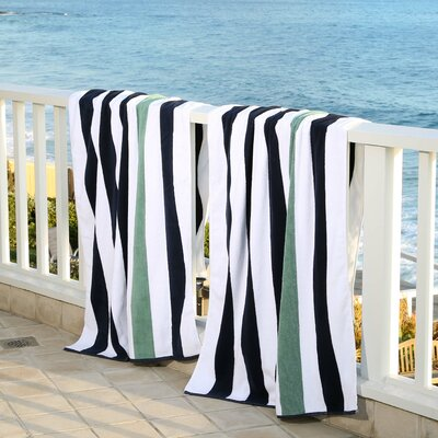 Plush Cabana Beach Towel Color: Old Glory