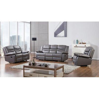 AmericanEagleInternationalTrading AE-D823-DG Bayfront 3 Piece Living Room Set Upholstery