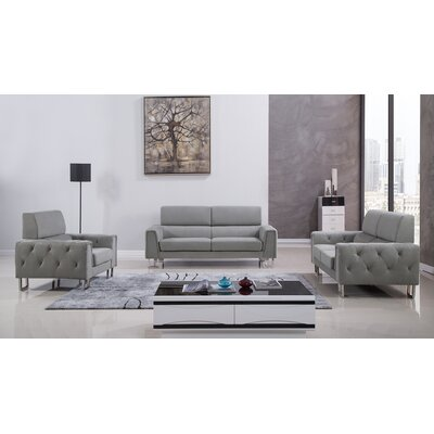 Hayden 3 Piece Living Room Set