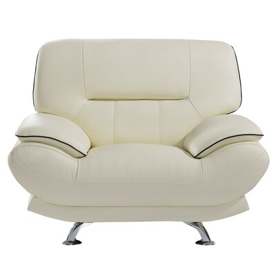 Arcaia Chair and a Half Upholstery: Ivory
