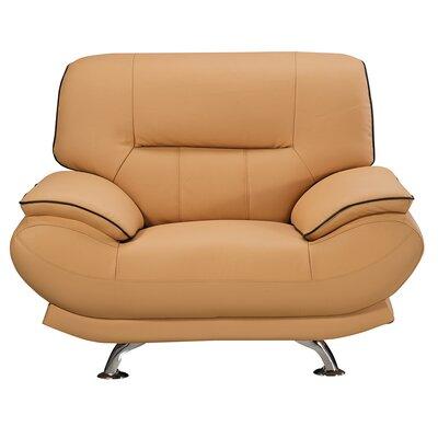 Arcaia Chair and a Half Upholstery: Orange